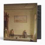 The Waiting Room, 1857 Vinyl Binder