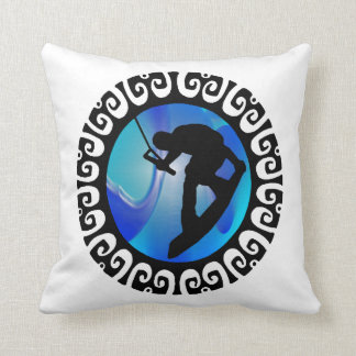 THE WAKEBOARD FEELING THROW PILLOW