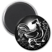 The Wakeup Rooster Magnet