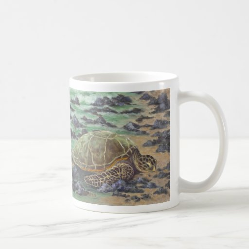 The Waking Wave, by Joan Landis Coffee Mugs