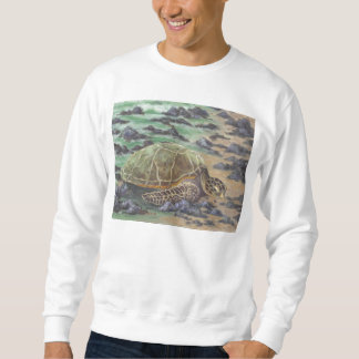 The Waking Wave by Joan Landis Sweatshirt