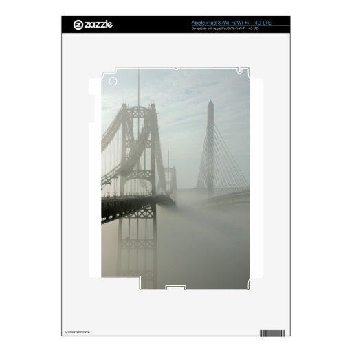 The Waldo Hancock and Penobscot Narrows Bridges iPad 3 Skins
