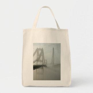 The Waldo Hancock and Penobscot Narrows Bridges Tote Bag