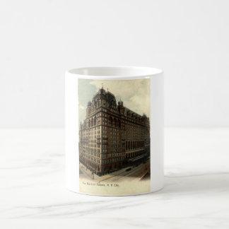 The Waldorf Astoria, New York City 1908 Vintage Magic Mug