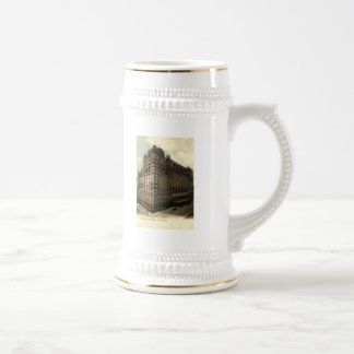 The Waldorf Astoria New York City 1908 Vintage Coffee Mugs