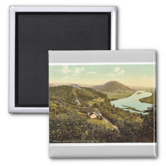 The Walhalla with view in the Danube Valley, Ratis Refrigerator Magnets