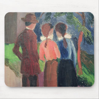 The Walk, 1914 Mouse Pad