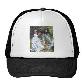 The walk by Pierre Renoir Mesh Hats