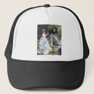 The walk by Pierre Renoir Trucker Hat