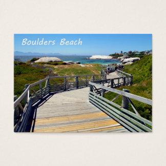 The walk down toward Boulders Beach near Cape Town Business Card