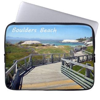 The walk down toward Boulders Beach near Cape Town Laptop Sleeve