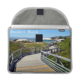 The walk down toward Boulders Beach near Cape Town MacBook Pro Sleeve