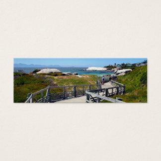 The walk down toward Boulders Beach near Cape Town Mini Business Card