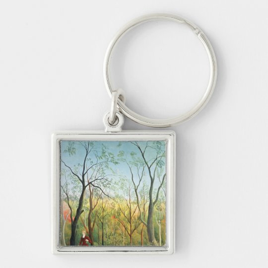 The Walk in the Forest, 1886-90 Keychain