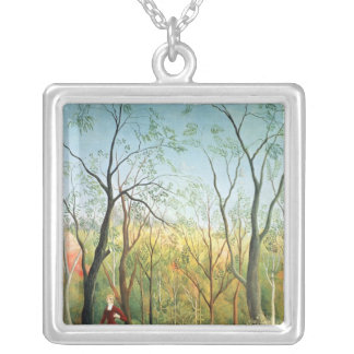 The Walk in the Forest, 1886-90 Silver Plated Necklace