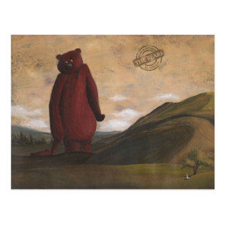 The Walk - the Bearz Postcard