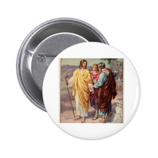 The walk to emmaus button