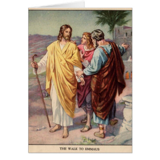 The walk to emmaus card