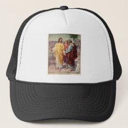 The walk to emmaus trucker hat