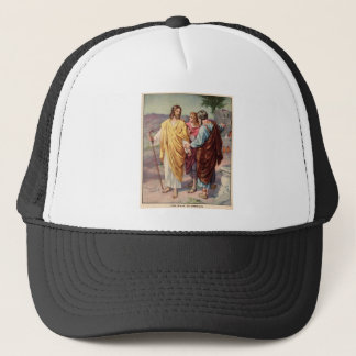 The walk to emmaus trucker hat