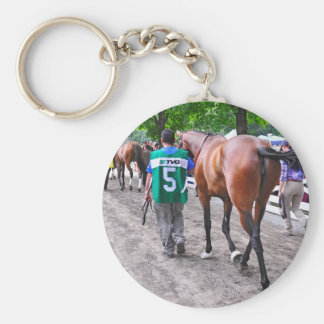 The Walk to the Paddock Keychain