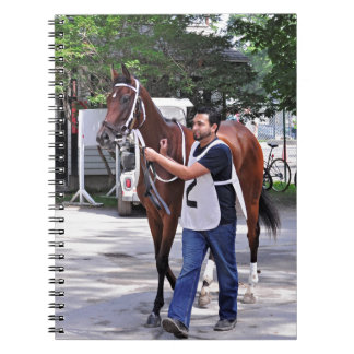 The Walk to the Paddock Spiral Notebook