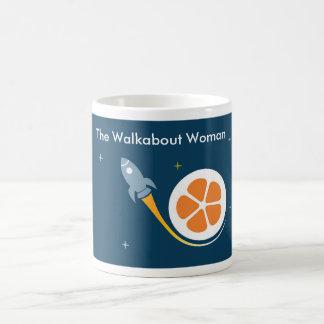 The Walkabout Woman Blast Off Mug! Classic White Coffee Mug