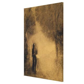The Walker Canvas Print