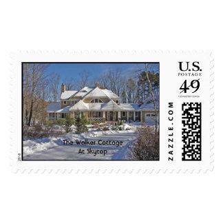 The Walker Cottage At Skytop Postage Stamp