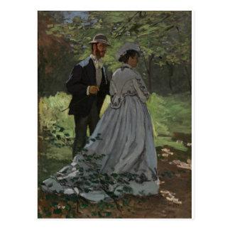 The Walkers (1865) Postcard