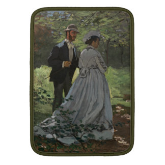 The Walkers - Claude Monet Sleeve For MacBook Air