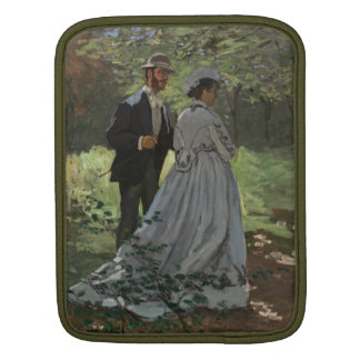The Walkers - Claude Monet Sleeve For iPads
