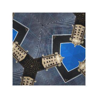 The Walkie-Talkie Kaleidoscope Canvas Print