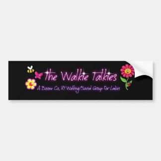 The Walkie Talkies Bumper Sticker
