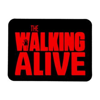 The Walking Alive Imán Foto Rectangular