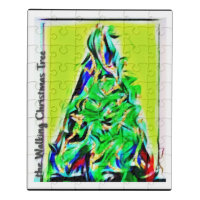The Walking Christmas Tree Jigsaw Puzzle