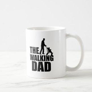 The Walking Dad funny coffee mug
