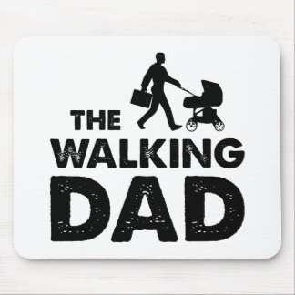 The Walking Dad Mouse Pad