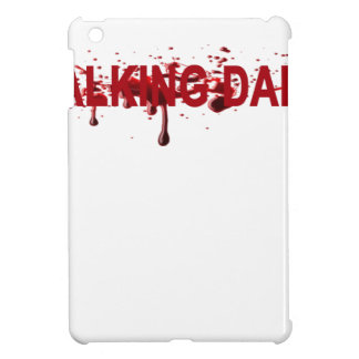 The WALKING DAD (on dark) Father's Day Zombie T-sh iPad Mini Cover