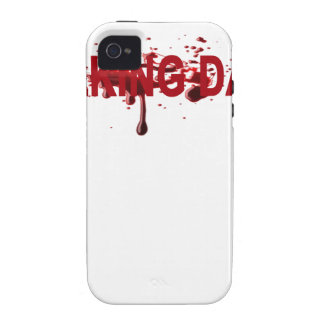 The WALKING DAD (on dark) Father's Day Zombie T-sh iPhone 4 Cover