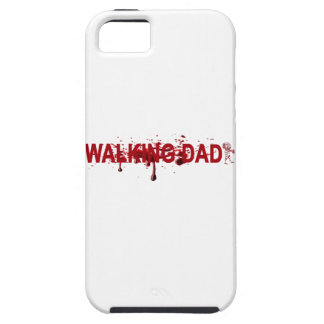 The WALKING DAD (on dark) Father's Day Zombie T-sh iPhone 5 Case
