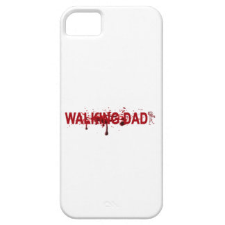 The WALKING DAD (on dark) Father's Day Zombie T-sh iPhone 5 Covers