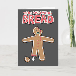 Walking dead cards greeting photo cards zazzle the walking dead gingerbread man greeting card m4hsunfo