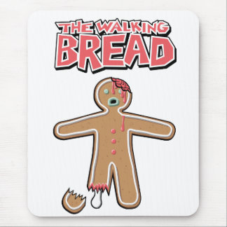 The Walking Dead GingerBread Man Zombies Mouse Pad