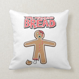 The Walking Dead The Walking Bread Zombie Cussion Throw Pillow
