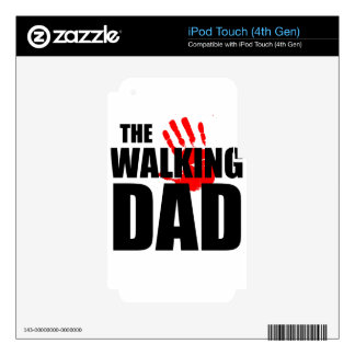 the walking decals for iPod touch 4G