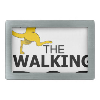 The walking dog belt buckle