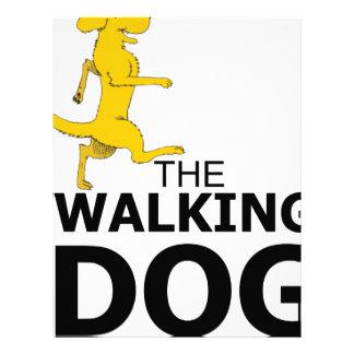 The walking dog letterhead