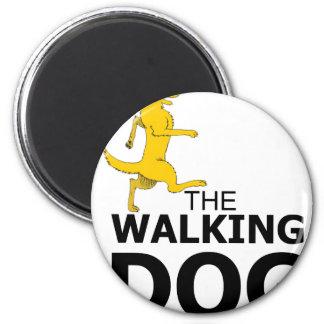 The walking dog magnet
