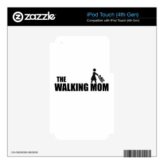 The Walking Mom iPod Touch 4G Skin